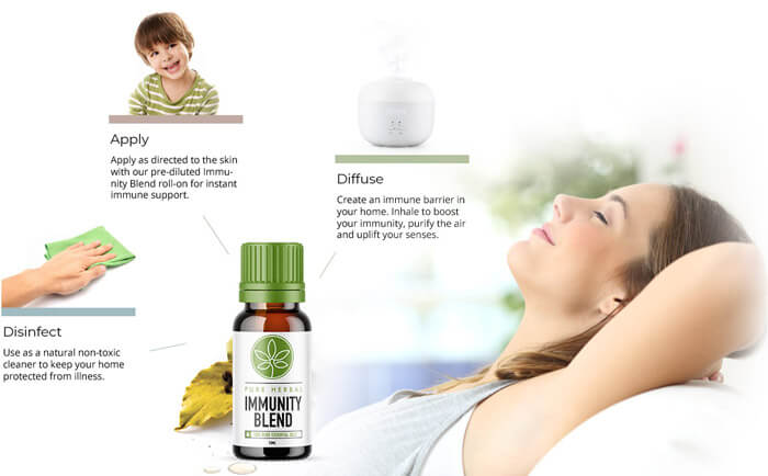 Herbal Blend Immunity Oil