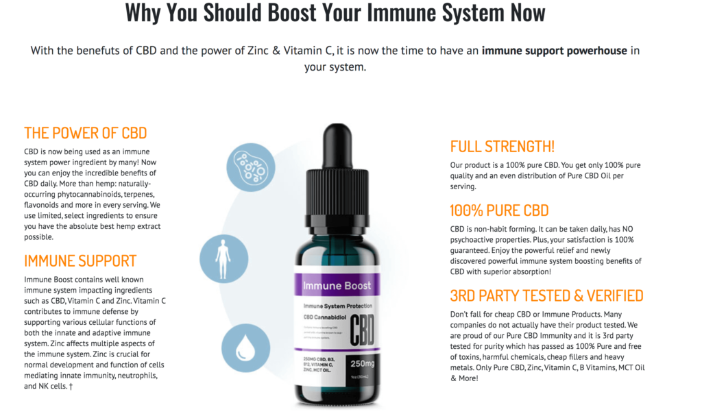 Herbal Blend Immunity Oil Review
