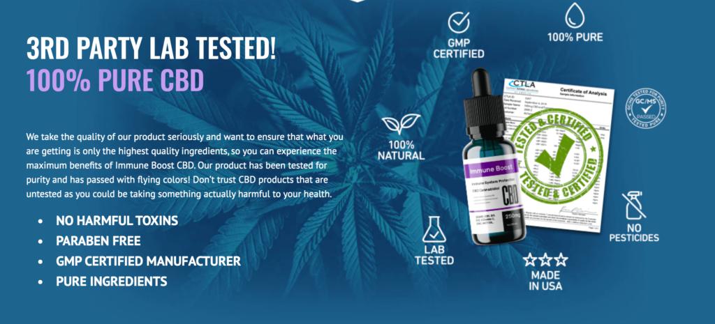 Herbal Blend Immunity Oil Review