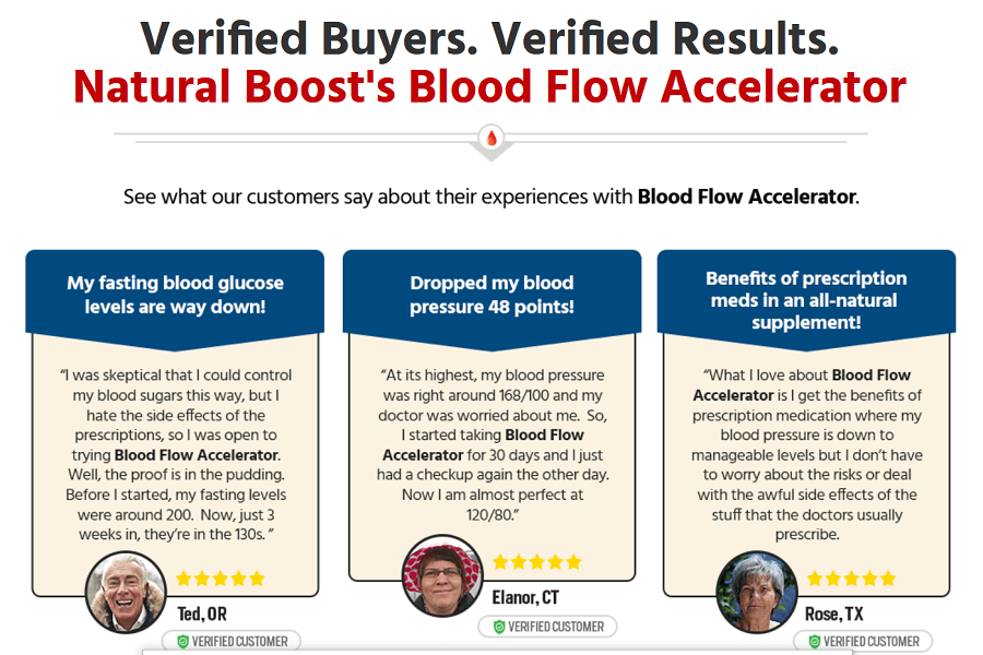 Nature Blood Accelerator